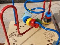 Jucarie spirala din lemn