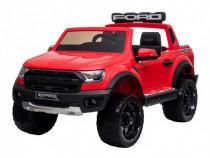 Masinuta electrica ford ranger 90w 12v cu scaun tapitat #red