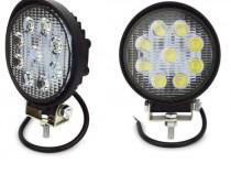 Proiector LED auto offroad 27W pt ATV, 4x4, SUV, Flood Beam