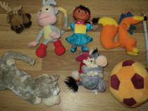 Lot plusuri din desenele Dora si Winie the pooh ...