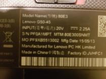 Lenovo g50 45 dezmembrez