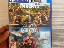 Joc Farcry 5 & Farcry 4 PS4 Consola-Stare Foarte Buna-German