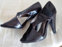 Pantofi toc Debenhams Red Herring bordo m.36