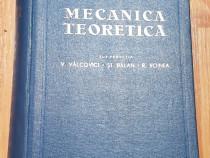 Mecanica teoretica de Victor Valcovici