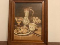 Goblen lucrat manual*biscuitii*ceai-mic dejun !