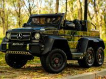 Masinuta electrica KInderauto Mercedes G63 6x6 270W DELUXE