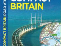 Carte atlas rutier detaliat Marea Britanie, Anglia, harti