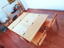 Masuta lego / diverse activitati copii + 4 scaunele