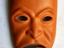Masca ceramica decorativa