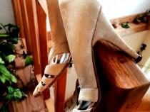 Pantofi piele naturala mărimea 35