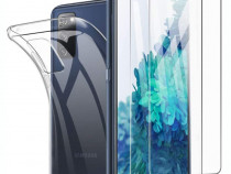 Samsung Galaxy S20 FE Husa TPU + Folie Sticla U01230764