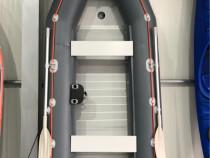 Barca Pneumativa kolibri KM-360D + podină de aluminiu