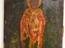 Icoana veche Sfantul Nicolaie anii 1890 / Icoana veche
