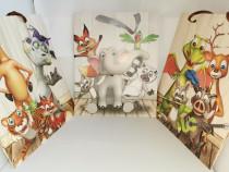 Pungi carton punga cadou desene copii Cadou special Craciun
