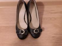 Pantofi toc negru h&m 39