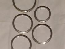 Bass drum O's port hole ring chrome
