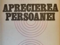 Titus Suteu - Aprecierea persoanei, 1982