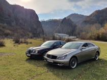 Mercedes Cls și Jaguar S-type !!!