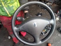 Volan complet cu airbag Peugeot 307