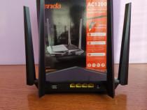 Router wireless tenda ac10u, aproape nou în garantie