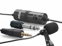 Microfon lavaliera omnidirectional pentru camere foto si sma