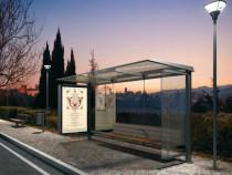 Statie de autobus / adapost statie pentru calatori