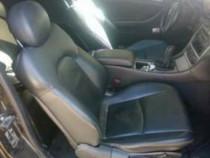 Interior piele neagra mercedes c class w203 coupe