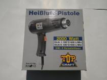 Pistol cu aer cald Top Craft Germany 2000 Watt 600°C