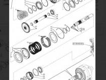 Inel Piston OEM CNH 47137663