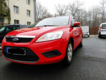 Ford Focus 2 diesel 1.6 tdci 2009 break import Germania roșu