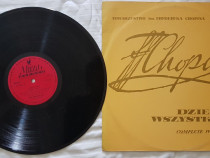 Colectie muzica - 6 discuri de vinil -Frédéric Chopin-discur