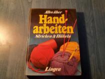 Carte de tricotat in limba germana Lingen