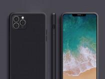 Iphone 12 / MINI / PRO /MAX Husa Ultra Slim Silicon Neagra P