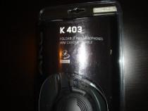 Casti pliabile AKG K403 Foldable mini headphones
