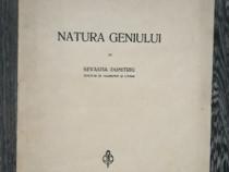 Carte veche filosofie sevastia dumitriu natura geniului