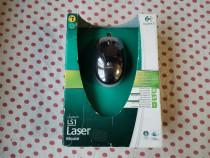 Mouse Logitech LS1 black-orange Laser.