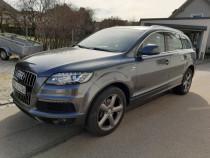 Audi q7 aline ++