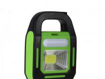 Lanterna Lucru HB-9707A, Reincarcabila, Cu LED, Verde C423