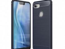 Husa telefon Silicon Google Pixel 3 Blue Carbon PRODUS NOU