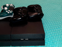 Ps4 500gb + 2 controlere + charging controller station