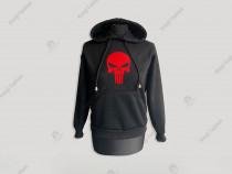 Hanorac The Punisher Rosu pentru copii/jocuri video/carnaval