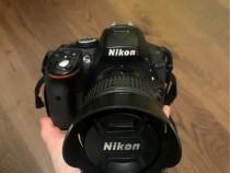 Nikon D3500 + Obiectiv 18-55mm si geanta