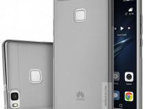 Husa Telefon Silicon Huawei P9 Clear Grey Ultra Thin