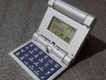Calculator de birou cu ceas, termometru si calendar