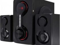 Boxe 2.1 bluetooth,SXRS 2790,intrări AUX si RCA, SD și USB