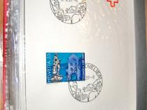 B962-I-Filatelie Timbre Album Elvetia Obliteratiuni speciale