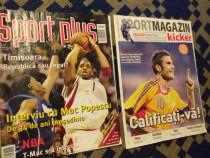 3Reviste Sport Mag/Plus/Euro2016,Emblema Fina E.League/Pix W