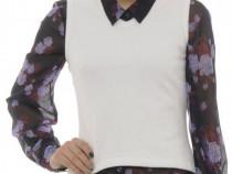 Vesta Pimkie alba fina pufoasa calduroasa (bust 90 cm)