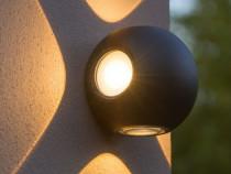 Aplica rotunda exterior-interior lumina calda 360 grade