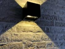 Aplica perete interior-exterior cube 2 x 3w ip65